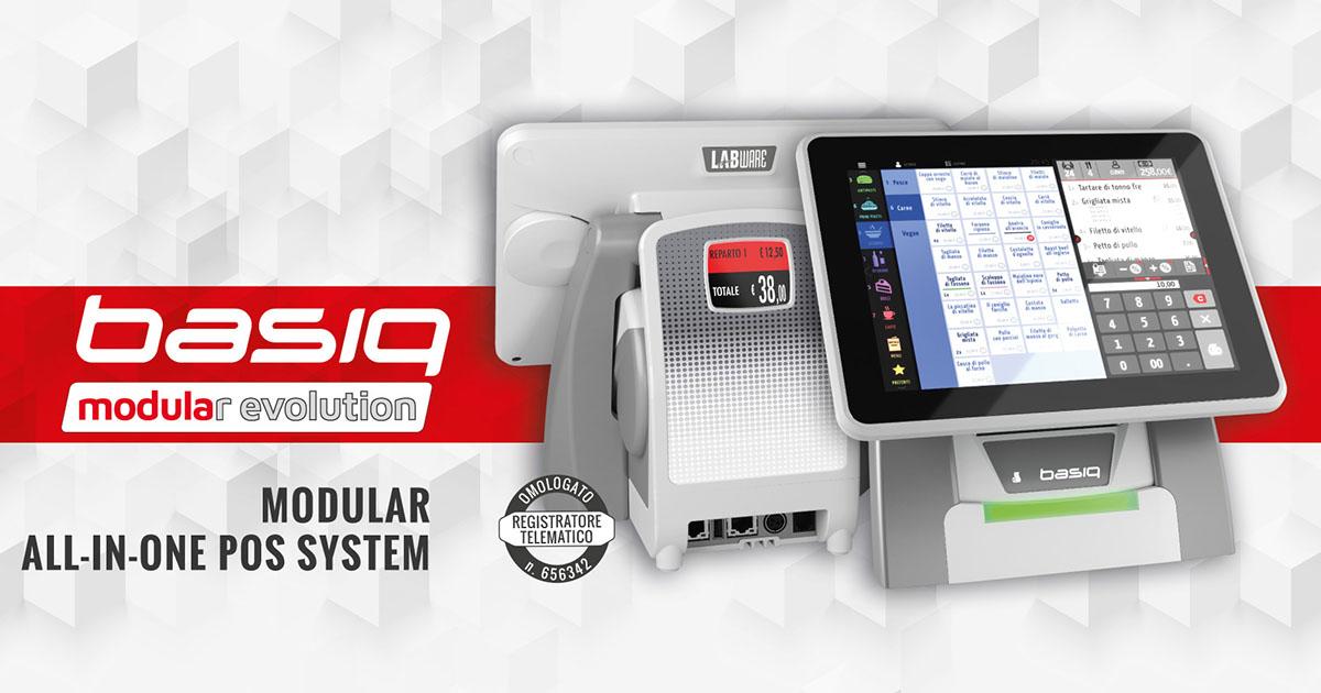 Basic Touch PRO, il non plus ultra del punto cassa professionale